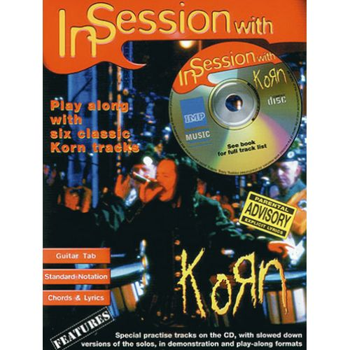IMP KORN - IN SESSION WITH + CD - GUITARE TAB