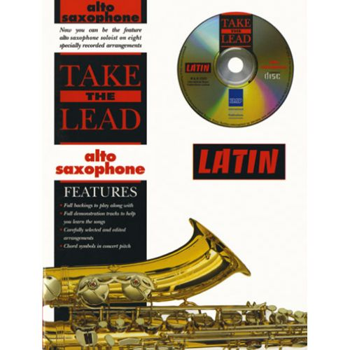 IMP TAKE THE LEAD LATIN + CD - SAXOPHONE ALTO