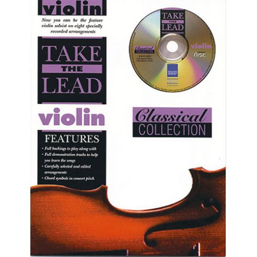 IMP TAKE THE LEAD CLASSICAL + CD - VIOLON