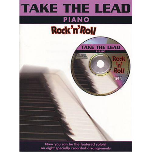 IMP TAKE THE LEAD ROCK'N'ROLL + CD - PIANO