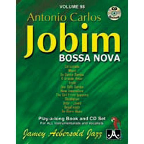 AEBERSOLD AEBERSOLD N°098 - ANTONIO CARLOS JOBIM + CD