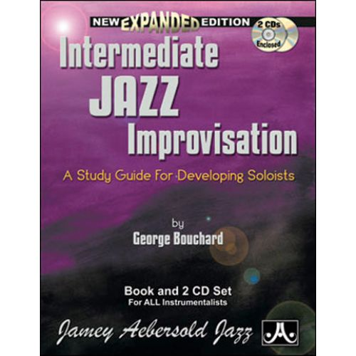 AEBERSOLD BOUCHARD JOE - INTERMEDIATE JAZZ IMPRO + 2 CD - FORMATION MUSICALE