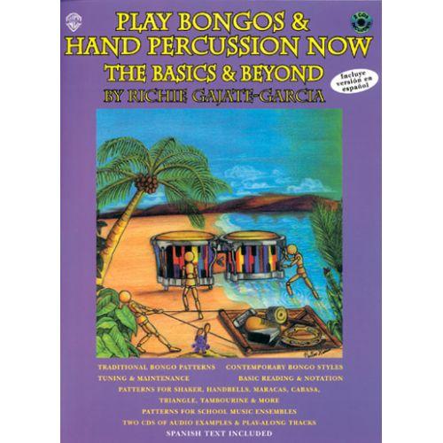 WARNER BROS PLAY BONGOS AND HAND PERCUSSIONS + 2 CD
