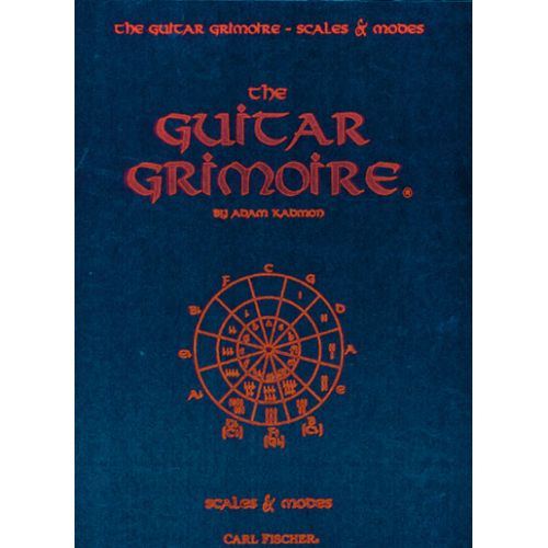 CARL FISCHER KADMON ADAM - GRIMOIRE SCALES & MODES VOL.1 - GUITARE