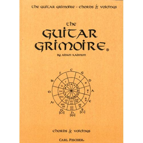 CARL FISCHER KADMON ADAM - GRIMOIRE CHORDS & VOICI VOL.2 - GUITARE