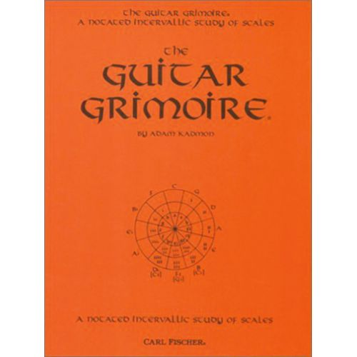 CARL FISCHER GRIMOIRE NOTATED INTERVALLIC - GUITARE