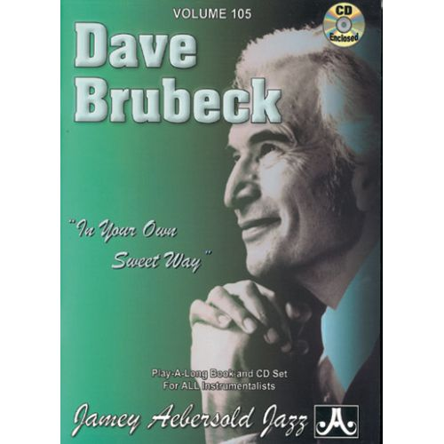 AEBERSOLD AEBERSOLD N°105 - DAVE BRUBECK + CD