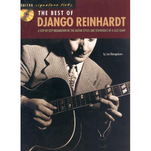 HAL LEONARD SIGNATURE LICKS - REINHARDT DJANGO - BEST OF + CD