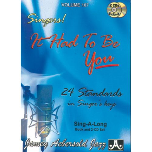 AEBERSOLD ABERSOLD N°107 - IT HAD TO BE YOU + CD - TOUS INSTRUMENTS