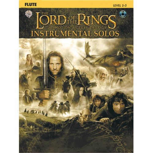 WARNER BROS SHORE HOWARD - THE LORD OF THE RINGS - FLUTE