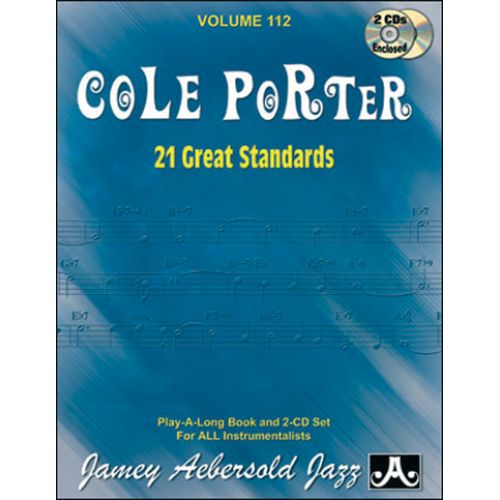 AEBERSOLD AEBERSOLD N°112 - COLE PORTER - 21 GREAT STANDARDS + CD