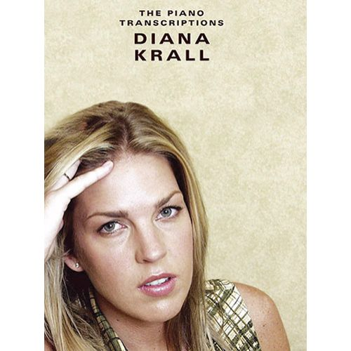 WISE PUBLICATIONS KRALL DIANA - THE PIANO TRANSCRIPTIONS