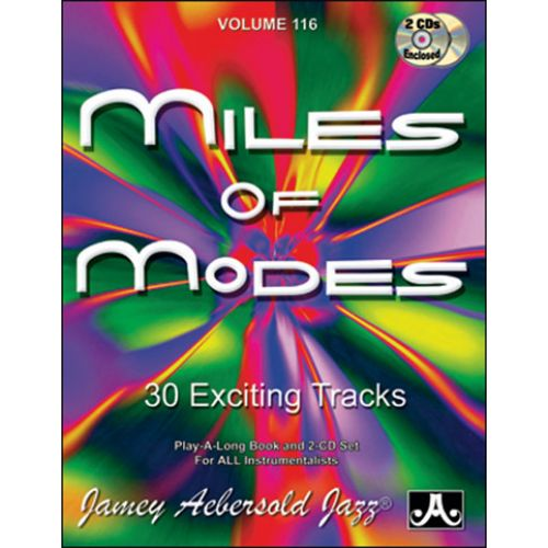 AEBERSOLD AEBERSOLD N°116 - MILES OF MODES : MODAL JAZZ + CD