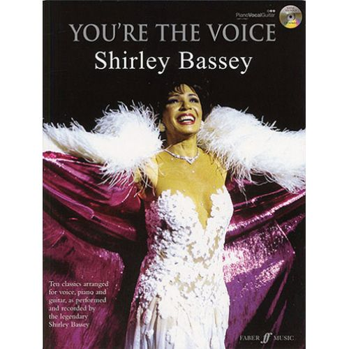 FABER MUSIC YOU'RE THE VOICE - SHIRLEY BASSEY + CD PVG
