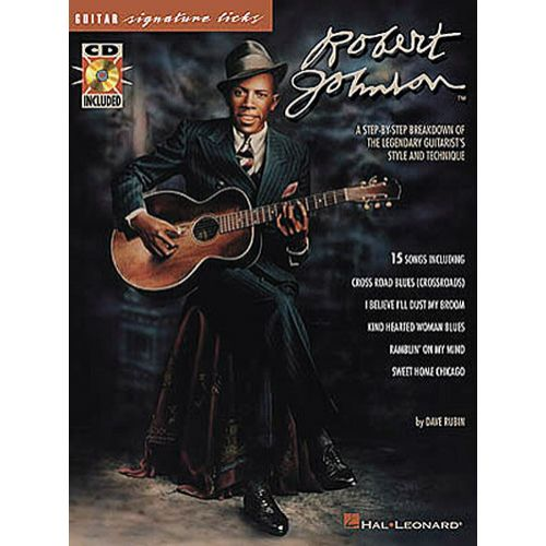 HAL LEONARD SIGNATURE LICKS - ROBERT JOHNSON + CD