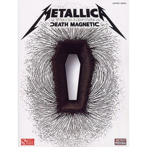 CHERRY LANE METALLICA - DEATH MAGNETIC - PARA GUITARRA