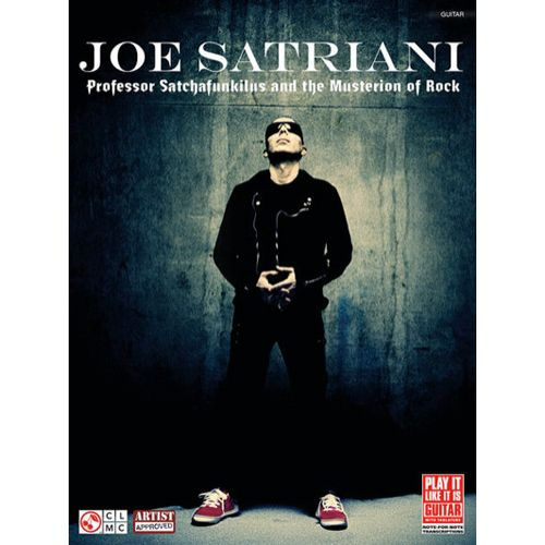 CHERRY LANE SATRIANI JOE - PROFESSOR SATCHAFUNKILUS AND THE MUSTERION OF ROCK - GUITARE