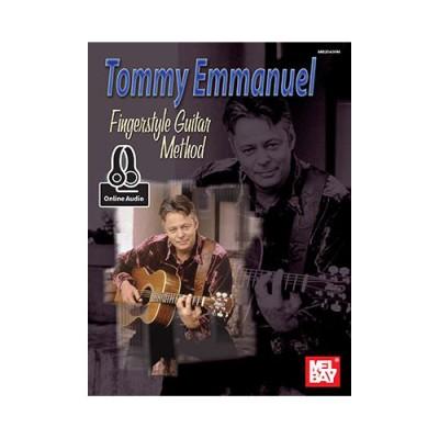 MEL BAY TOMMY EMMANUEL FINGERSTYLE GUITAR METHOD + MP3