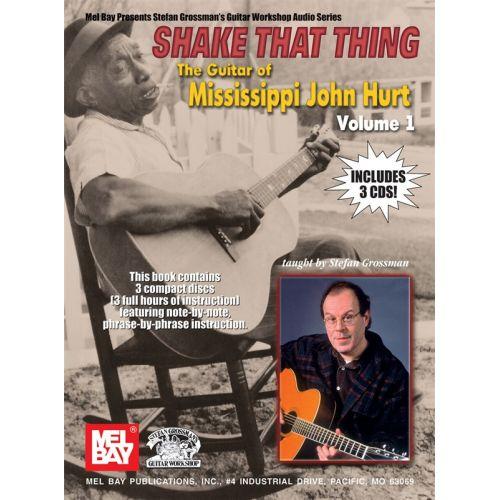 MUSIC SALES HURT JOHN - SHAKE THAT THINK - GUITAR