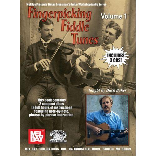 MUSIC SALES BAKER DUCK - FINGERPICKING FIDDLE TUNES, VOLUME 1 - GUITAR