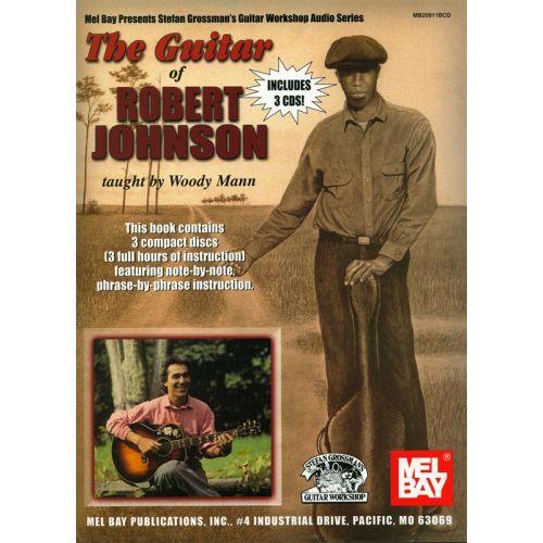 MUSIC SALES JOHNSON ROBERT - GUITAR OF ROBERT JOHNSON - GUITAR