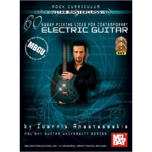MEL BAY ANASTASSAKIK IOANNIS - MBGU ROCK GUITAR MASTERCLASS, VOL. 2 - GUITAR TAB