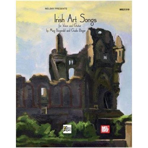 MEL BAY FITZGERALD MEG - IRISH ART SONGS - VOICE