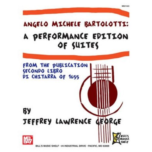 MEL BAY GEORGE JEFFREY LAWRENCE - BARTOLOTTI - PERFORMANCE ED. SECONDO LIBRO DI CHITARRA - GUITAR TAB