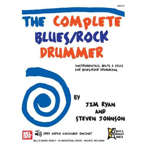 MEL BAY JOHNSON STEVEN - COMPLETE BLUES/ROCK DRUMMER - DRUMS