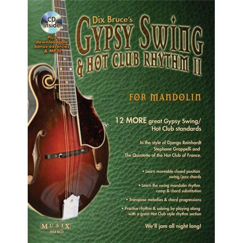 MUSIC SALES BRUCE DIX - GYPSY SWING AND HOT CLUB RHYTHM II FOR MANDOLIN - 2 - MANDOLIN