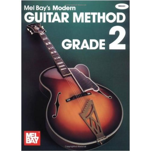 MEL BAY BAY MEL - MODERN GUITAR METHOD GRADE 2 + CD - GUITAR