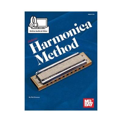 MEL BAY DUNCAN PHIL - DELUXE HARMONICA METHOD - HARMONICA