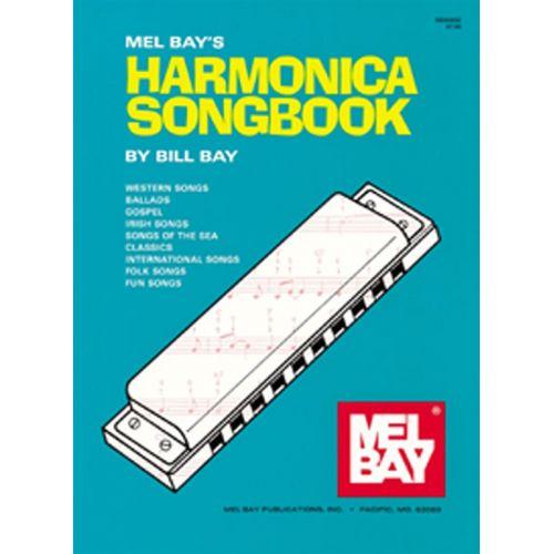 MEL BAY BAY WILLIAM - HARMONICA SONGBOOK - HARMONICA