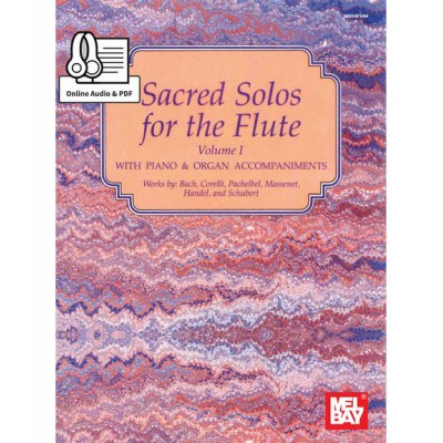MEL BAY MCCASKILL MIZZY - SACRED SOLOS FOR THE FLUTE VOLUME 1 + MP3 - FLUTE