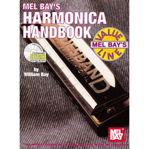 MEL BAY BAY WILLIAM - HARMONICA HANDBOOK - HARMONICA