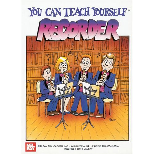 MEL BAY BAY WILLIAM - YOU CAN TEACH YOURSELF RECORDER - RECORDER
