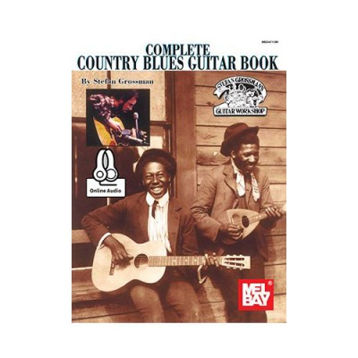 MEL BAY COMPLETE COUNTRY BLUES GUITAR BOOK + AUDIO ONLINE