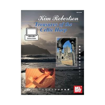 MEL BAY ROBERTSON KIM - TREASURES OF THE CELTIC HARP - HARP