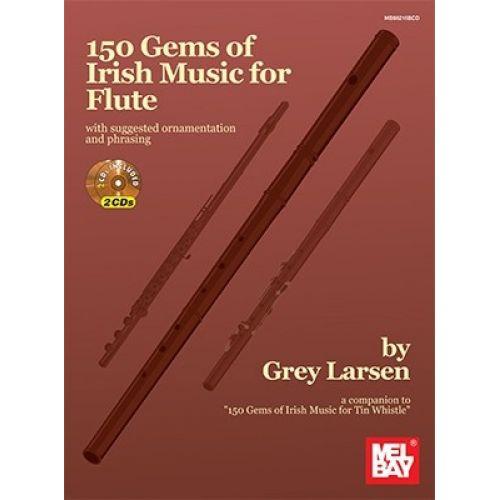 MEL BAY 150 GEMS OF IRISH MUSIC FOR + CD - FLUTE