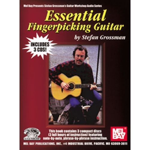 MUSIC SALES GROSSMAN STEFAN - ESSENTIAL FINGERPICKING GUITAR - GUITAR