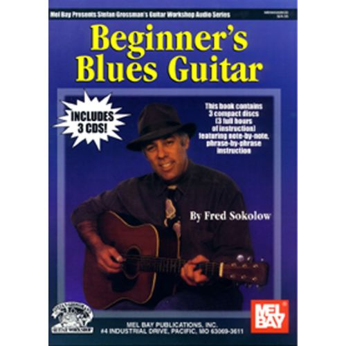 MUSIC SALES SOKOLOW FRED - BEGINNER'S BLUES GUITAR - GUITAR
