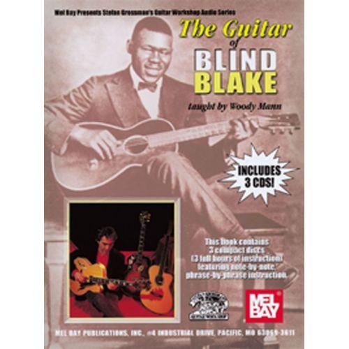 MUSIC SALES MANN WOODY - GUITAR OF BLIND BLAKE - GUITAR