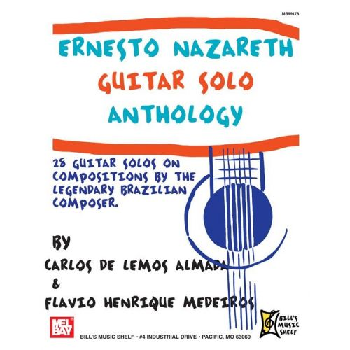 MEL BAY NAZARETH E. - GUITAR SOLO ANTHOLOGY