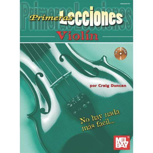 MEL BAY DUNCAN CRAIG - FIRST LESSONS VIOLIN - SPANISH - VIOLIN