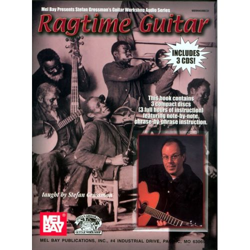 MUSIC SALES GROSSMAN STEFAN - RAGTIME GUITAR - GUITAR
