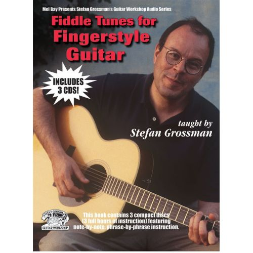 MUSIC SALES GROSSMAN STEFAN - FIDDLE TUNES FOR FINGERSTYLE GUITAR - GUITAR