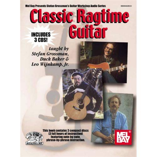 MUSIC SALES GROSSMAN STEFAN - CLASSIC RAGTIME GUITAR - GUITAR