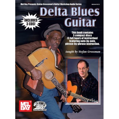 MUSIC SALES GROSSMAN STEFAN - DELTA BLUES GUITAR - GUITAR