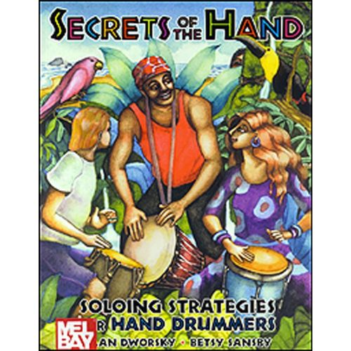 AMSCO DWORSKY ALAN - SECRETS OF THE HAND - PERCUSSION
