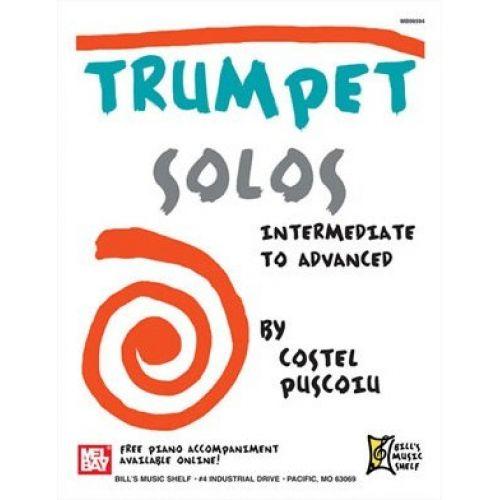MEL BAY PUSCOIU COSTEL - TRUMPET SOLOS - INTERMEDIATE TO ADVANCED - TRUMPET